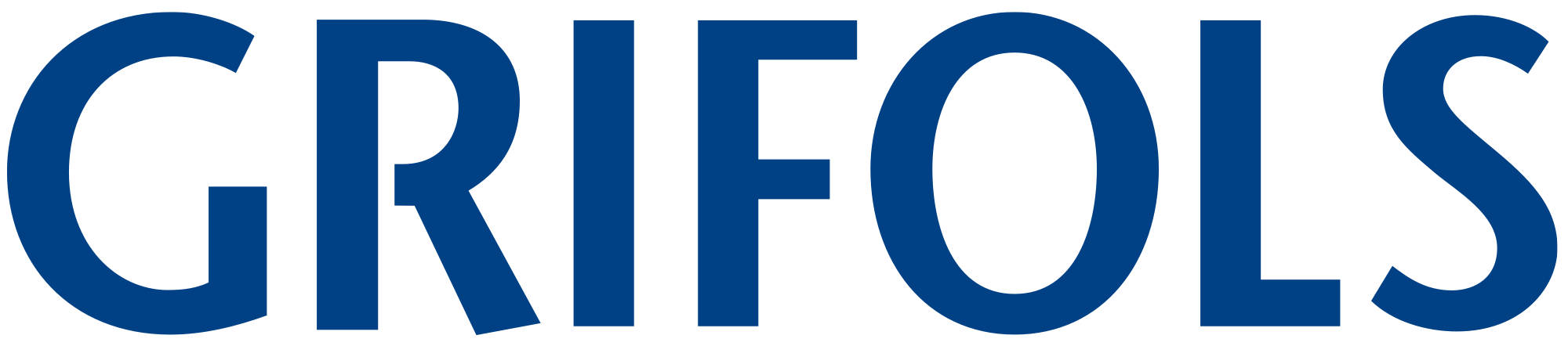Blue Grifols United States corporate logo
