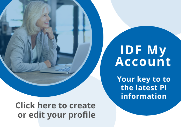 Your Account. Click here to create or edit your profile