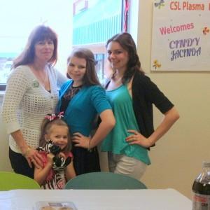 The Christy Family, mom Cindy and daughters Jacinda, Danica and Louisa
