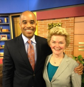WJZ TV Anchor Kai Jackson and IDF President & Founder Marcia Boyle