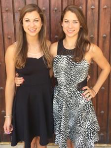 Amanda (left) and Emily Gale